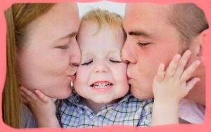 Родительская любовь к ребенку.