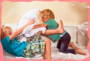 Гиперактивность и активность детей.