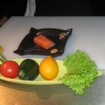 Салат «Тар-тар» из лосося