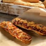 Бутерброд с ветчиной и грибами