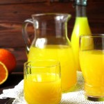 Домашний сок из апельсинов